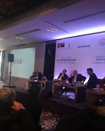 Türkiye-Sırbistan Tarım İş Forumu